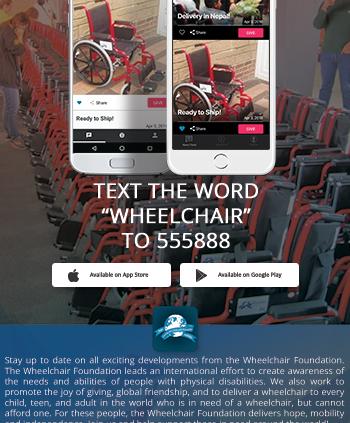 Wheelchair Foundation App